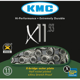 KMC X-11-93 Kette 11-fach silver/grey